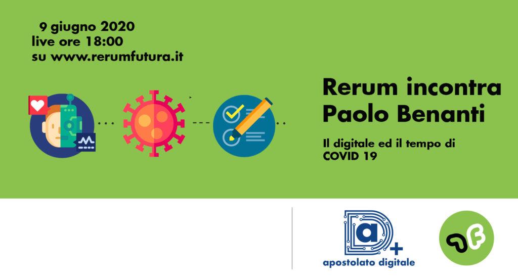 Rerum futura: incontro con Paolo Benanti